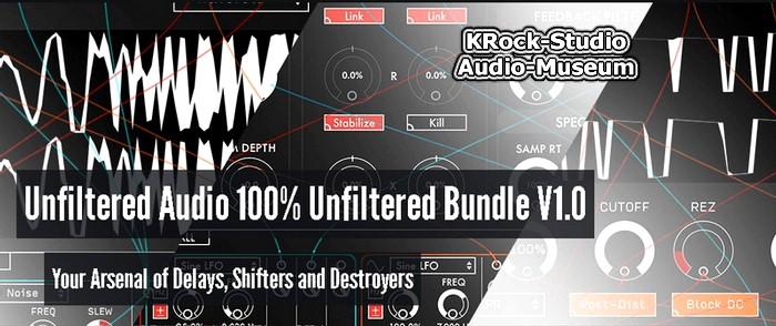 Plugin Alliance Unfiltered Audio 100 Bundle v1 1 0 WiN - Audio-Museum